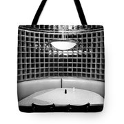 Dining In Black And White Tote Bag