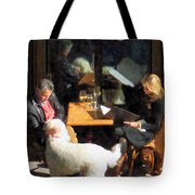 Dining Out With The Family Tote Bag