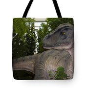 Dinosaur Inside The Conservatory Tote Bag