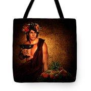 Dionysus Tote Bag by Lourry Legarde