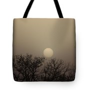 Dirt Storm Sunset Natural Color Of It Tote Bag