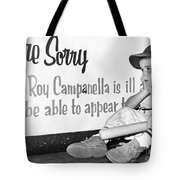 Disappointed Boy, 1957 Tote Bag