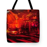 Disaster In The Streets Tote Bag