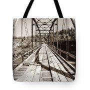 Discarded Bridges Tote Bag