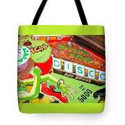 Disco Pinball Tote Bag