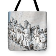 Discovery Monument Lisbon Portugal Tote Bag