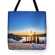 Discovery Point Sunrise Tote Bag
