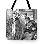 Disraeli Cartoon, 1876 Tote Bag
