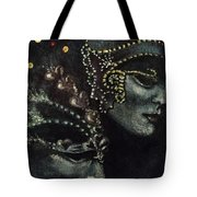 Distant Faces Tote Bag