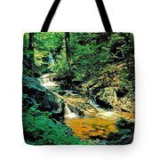 Distant Ozone Falls And Rapids - Summer Tote Bag