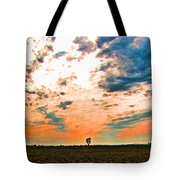 Distant Tree Tote Bag