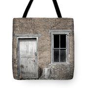Distressed Facade Tote Bag