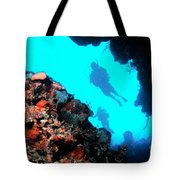 Diver Down Tote Bag
