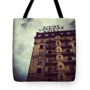 Divine Tote Bag by Katie Cupcakes