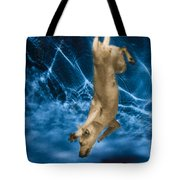 Diving Dog 2 Tote Bag