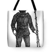 Diving Suit, 1855 Tote Bag