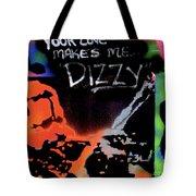 Dizzy Love Tote Bag