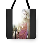 Mschronicchronicles Sunshine Lady Tote Bag