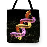 Dna Fat Coil Tote Bag by Russell Kightley