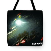 Dnt Txt N Drv Tote Bag by Renee Trenholm