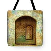 Do-00489 Old Door Within A Door-crackles Tote Bag