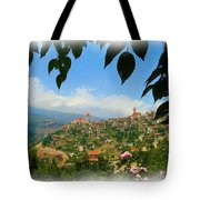 Do-00547 Town Of Bcharre Tote Bag
