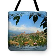 Do-00548 Town Of Bcharre Tote Bag