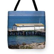 Dock At Point Reyes Calfornia . 7d16070 Tote Bag