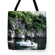Docked At Sea Tote Bag