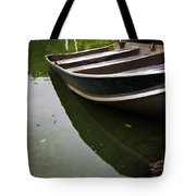 Docked In Central Park Tote Bag