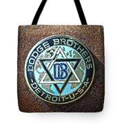Dodge Brothers Badge Tote Bag by Steve McKinzie