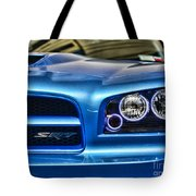 Dodge Charger Front Tote Bag