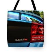 Dodge Charger Srt8 Rear Tote Bag
