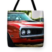 Dodge Super Bee Classic Red Tote Bag by Paul Ward