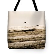 Dodging The Waves Tote Bag
