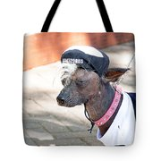 Dog On A Bad Luck Day Tote Bag