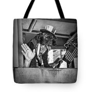 Dog On The Campaign Trail Tote Bag