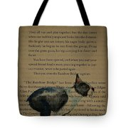 Dog Prayer Tote Bag