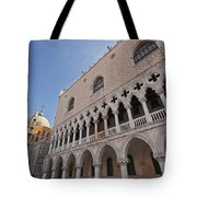 Doges Palace Off Piazza San Marco Or Tote Bag