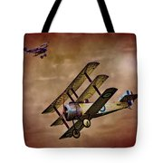 Dogfight 1918 Tote Bag