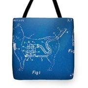 Doggie Vacuum Patent Artwork Tote Bag