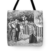Dogs, 19th Century Tote Bag