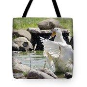 Doin The Duck Splash Tote Bag