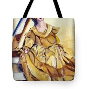 Doll On Canvases  Tote Bag