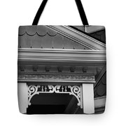 Dollhouse Black And White Tote Bag