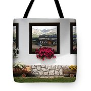 Dolomiti On Spring Tote Bag