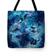 Dolphin Enchantment Tote Bag