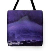 Dolphin Sky Tote Bag