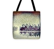Dome Of Snow Tote Bag
