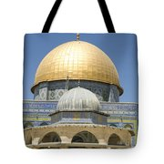 Dome Of The Rock Was Erected Tote Bag